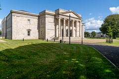 THE NEW COURT HOUSE IN WATERFORD IS LOCATED BESIDE THE PEOPLE'S PARK [OPENED IN APRIL 2018-155350 (infomatique) Tags: waterfordcourthouse catherinestreet waterfordcity court courthouse jbkeane medievalgraveyard 12thcenturysettlement classicalstyle peoplespark williammurphy infomatique fotonique sony a7riii