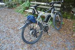IMGP5767 Mountain Bike mit Maxon-Motor (Alvier) Tags: schweiz ostschweiz werdenberg alpenrheintal rheintal buchs sevelen buchserberg sevelerberg tobelbrugg masnerihütte velo fahrrad ebike maxonmotor