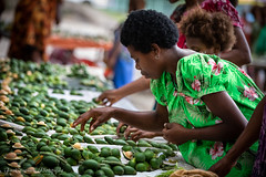 Millions of betel nuts are sold and consumed in Papua New Guinea every day. Chewing a betel nut produces red residue and acts as a mild stimulant. (Catherine Gidzinska and Simon Gidzinski) Tags: 2019 july papuanewguinea rabaul betel betelnut gidzinska gidzinski girl grainconnoisseur market seller stall woman eastnewbritain dof people nut png tribal
