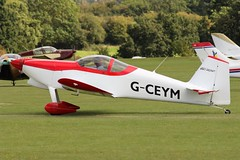 Van's RV-6 G-CEYM (Craig S Martin) Tags: sywell laa aircraft aviation airplane flyin vans rv6 gceym