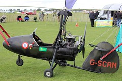 Wallis Auto-gyro G-SCAN (Craig S Martin) Tags: sywell laa aircraft aviation airplane flyin