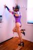 DSC04532 (Kory / Leo Nardo) Tags: pup play rubberdawg mask rubber dog doberman dobie sissy femmy tights pantyhose crossdress high heels collar lingerie pupleo 2019 9119 bodysuit cd