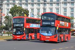 Volvo-Bodied Metroline Only !!!!!!!!!!! (hotspur_star) Tags: londontransport londonbuses londonbus londonbuses2019 wrightbus volvoeclipsegemini volvoevoseti mcv tfl transportforlondon hybridbus hybridtechnology busscene2019 doubledeck metrolinelondon lk67ezp lk18anv vwh2426 vmh2473 274 98