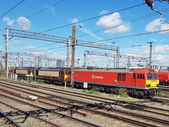 92042 + 67021 + 67024 (chriswarman) Tags: 92042 67021 67024 wembley lhs light engine ews db dbschenker class67 class92