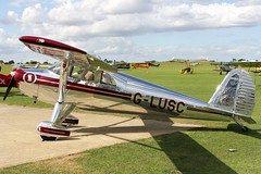 Luscombe 8E G-LUSC (Craig S Martin) Tags: sywell laa aircraft aviation airplane flyin