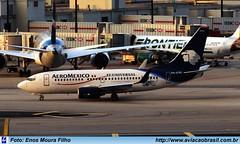 Aeromexico - XA-CTG (Aviacaobrasil) Tags: aeromexico boeing737700 enosmourafilho miami