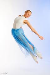 _MG_6370-2 (Mikhail Lukyanov) Tags: girl woman beautiful sweet ballet dance ballerina dancer jump flight movement white blue