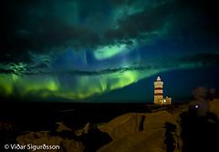Garðskagaviti. jpg.9054 (VidarSig) Tags: garðskagaviti garðskagi garðurinn reykjanes nordlicht northernlights norðurljós northenlight garðskagilighthouse lighthouse zeiss21mm distagont2821 carlzeiss zeissdistagont2821ze canon5dmarkiii iceland ísland 北極光 northen light 北极光 aurōrae северное сияние las luces del norte แสงเหนือ els llums nord nordlys אורות הצפון उत्तरी लाइट्स cahaya utara 북극광 avaratra lights kaskazini norrsken أضواء الشمالية 極光 luzes do