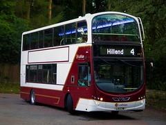 Lothian Buses 1141 (LX11CVW) - 17-08-19 (peter_b2008) Tags: lothianbuses goaheadgroup londoncentral volvo b9tl wright eclipsegemini2 1141 wvl396 lx11cvw edinburgh buses coaches transport buspictures