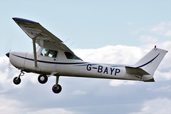 Cessna 150L G-BAYP (Craig S Martin) Tags: sywell laa aircraft aviation airplane flyin