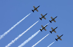 Breitling Jet Team (Mathias Düber) Tags: breitling breitlingfrance breitlingjetteam jet aviation l39 fly airshow2019 display aviationlovers pilot fighterjet