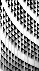 black-triangles_4594251489_o (karlduvall1) Tags: architecture black white facade curves