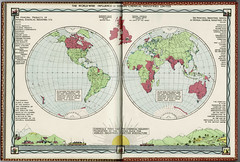 The world-wide influence of Imperial Chemical Industries, pictorial map, 1929 (mikeyashworth) Tags: ici imperialchemicalindustries worldmap1929 chemicals explosives dyestuffs fertilizers metals 1929 advertising map pictoralmap mikeashworthcollection industry industrialhistory