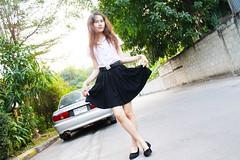 6 years ago (ChalidaTour) Tags: thailand thai asia asian girl femme fils chica nina teen sweet cute sexy petite slender slim skirt legs shoes car portrait