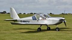 G-MKEV - Evektor EV-97 Eurostar    Sywell (V77 RFC) Tags: sywell laa lightaircraft aviation aircraft evektor ev97 gmkev
