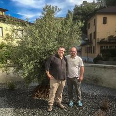 Con lo chef Luca Merlo (Olio Poldo - Olio Extra Vergine di Oliva) Tags: