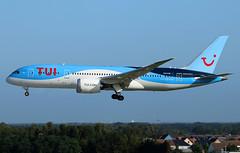 TUI Airlines Belgium Boeing 787-8 Dreamliner OO-LOE (RuWe71) Tags: tuiairlinesbelgium tbjaf beauty tui tuigroup belgium boeing boeing787 boeing787dreamliner b787 b788 b7878 boeing7878 boeing7878dreamliner ooloe cn36426260 gtuig pearl brusselsairport brusselszaventem brusselszaventemairport brusselzaventem zaventem bru ebbr widebody twinjet landing wingflex sunshine clearsky dreamliner