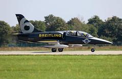 ES-YLF (Mathias Düber) Tags: breitling breitlingfrance breitlingjetteam jet aviation l39 fly airshow2019 display aviationlovers pilot fighterjet