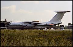 7T-WIV - Southend (SEN) 23.07.1999 (Jakob_DK) Tags: il76 il76td ilyushin ilyushinil76 il76candid ilyushin76 ilyushin76td ilyushinil76td cargo egmc sen southendairport londonsouthendairport algerianaf algerianairforce 1999 7twiv qjj