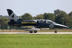 ES-YLR (Mathias Düber) Tags: breitling breitlingfrance breitlingjetteam jet aviation l39 fly airshow2019 display aviationlovers pilot fighterjet
