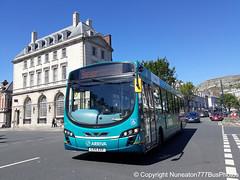 CX14BXR 3177 Arriva Buses Wales in Llandudno (Nuneaton777 Bus Photos) Tags: arriva buses wales wright pulsar cx14bxr 3177 llandudno