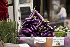 Wisteria (jkotrub) Tags: color colorful coloring2019 coloring colour colors purple wisteria eggplant food healthy market stall freshness fresh farmer pile delicious harvest natural local street eat
