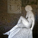 Female nude sculpture by Ivan Meštrović, Pleasure Grounds summer house, Parham House, West Sussex, England