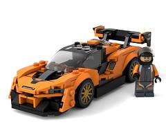 McLaren_Senna (k_lego_r) Tags: lego render city speed speedchampions mclaren senna moc c4d cinema4d car race racer legoart legocar legocity legomoc rendering racecar auto afol automobile turbo tuning sportcar