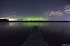 Robert warfh (MaxGag) Tags: aurore auroras lake reflection nigt stars
