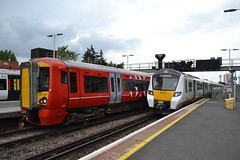 Gatwick Express Electrostar 387210 & Thameslink Desiro City 700151 (Will Swain) Tags: east croydon station 3rd august 2019 london greater city centre capital south train trains rail railway railways transport travel uk britain vehicle vehicles england english europe transportation class gatwick express electrostar 387210 thameslink desiro 700151 700 151 387 210