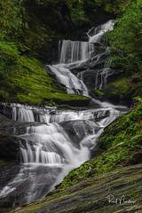 Roaring Fork Falls (Reid Northrup) Tags: rrs nature blueridgeparkway forest nikon northcarolina roaringforkfalls rocks stream trees water waterfall reidnorthrup scenic longexposure