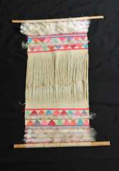 Backstrap Loom Maya Zinacantan Mexico Chiapas (Teyacapan) Tags: telar looms mexican chiapas maya zinacantan weavings tejidos plumas feathers