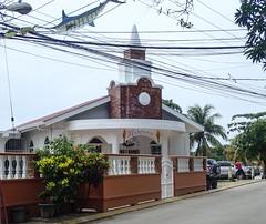 Roatan-WestTown-church (lelizard) Tags: cruise ncl breakaway westerncaribbean roatan honduras westtown shopping church town port