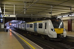 Thameslink Desiro City 700022 (Will Swain) Tags: east croydon station 3rd august 2019 london greater city centre capital south train trains rail railway railways transport travel uk britain vehicle vehicles england english europe transportation class thameslink desiro 700 700022 022 22