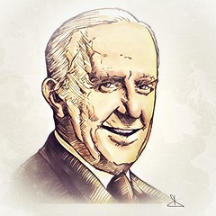 J.R.R.Tolkien - a portrait by Dino Olivieri (! / dino olivieri / www.onyrix.com) Tags: jrrtolkien tolkien fantasy lordoftherings hobbit portrait literature fantasia illustration illustrationart illustrazione illustrazioni illustrationoftheday illustrationtoday