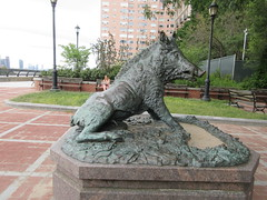 Happy 2019 Year of the Wild Boar statue East 57th St 9906 (Brechtbug) Tags: original wild italy statue by bronze happy this is florence gallery year replica marble uffizi boar renaissance completed sculptor pietro porcellino the housed 2019 1634 tacca 1557 1640 park street new york city nyc river all with place off next dude east renovations done sutton sits 57th 09022019