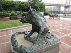 Happy 2019 Year of the Wild Boar statue East 57th St 9893 (Brechtbug) Tags: happy 2019 year wild boar statue replica bronze porcellino completed 1634 by renaissance sculptor pietro tacca 1557 1640 the original is marble housed uffizi gallery florence italy this dude sits off sutton place park east 57th street next river all done with renovations nyc 09022019 new york city