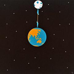 hatp (woodcum) Tags: animation animated gif gifanimation man hangman hanging planet planetearth earth moon space stars square melancholy grain surreal surrealism
