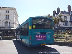 CX14BYG 3169 Arriva Buses Wales in Llandudno (Nuneaton777 Bus Photos) Tags: arriva buses wales wright pulsar cx14byg 3169 llandudno