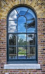 PITZHANGER MANOR 2 (Nigel Bewley) Tags: pitzhangermanor walpolepark ealing london england uk w5 window brick creativephotography artphotography unlimitedphotos september september2019nigelbewley photologo appicoftheweek