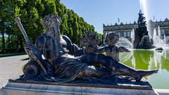 Img_016 (oana.balint) Tags: germany castle bavaria he fountain statue old herrenchiemsee