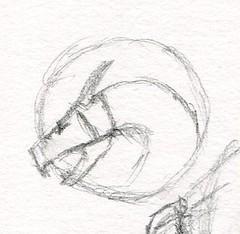 sc0677 (Josh Beck 77) Tags: traditional traditionalart pencil fantasy fantasycreature dragon drawing sketch
