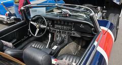 1973 Jaguar E-Type (faasdant) Tags: untouchable car show kalama washington wa usa 2019 1973 jaguar etype ots open two seater roadster union jack v12