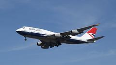 Negus (ƒliçkrwåy) Tags: gcivb boeing 747 747400 747436 jumbo aviation aircraft airliner heathrow lhr egll britishairways retro