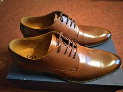 New brown derbies shined 1 (Adam11051983) Tags: brown derby dress footwear formal lace leather men mens shoe shoes