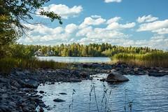Delight. (A.Koponen) Tags: canon eosr hoya naturephotography suomi kuopio lakephotography lake sky clouds rf50mmf12l