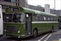 Bristol Omnibus ex- Cumberland RELL MH1261,  DAO294K, Marlborough Street, Bristol, May 26th 1984 (Bristol RE) Tags: 1261 mh1261 dao294k bristolomnibus cumberland cumberlandmotorservices 294 bristolcountrybus bristolre rell rell6l ecw marlboroughstreet bristol