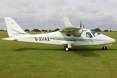 G-XVAX (GH@BHD) Tags: gxvax tecnam p2006 p2006t laa laarally laarally2019 sywellairfield sywell aircraft aviation