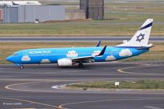 20190902_4X-EKO (sn_bigbirdy) Tags: ebbr brusselsairport zaventem bru fp3 elalairlines upairlines boeing b737 b737800 winglets