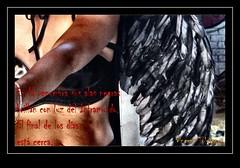En la penumbra sus alas brillan (VincentToletanus) Tags: urbex urbexmodel model modelo malefica maleficent retrato fantasia fantasi